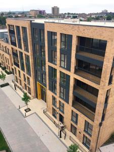 Grafton Quarter, Croydon, construction of residential apartments and studios