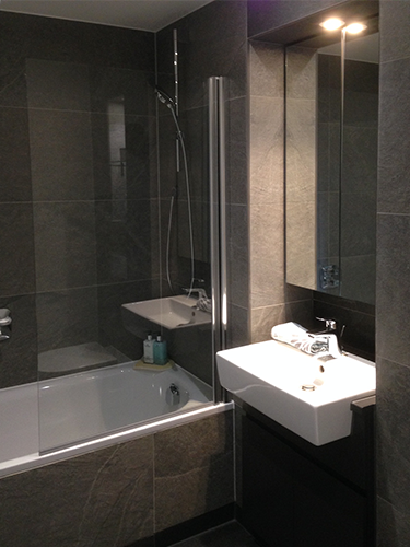 Grafton Quarter, typical bathroom