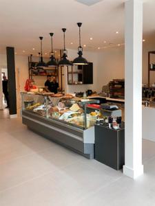 Modular Café interior