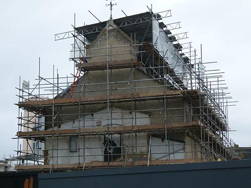 Callis Close Stable Refurbishment - under construction