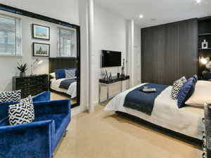 Callis Close, typical bedroom