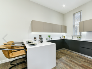Callis Close, typical kitchen area