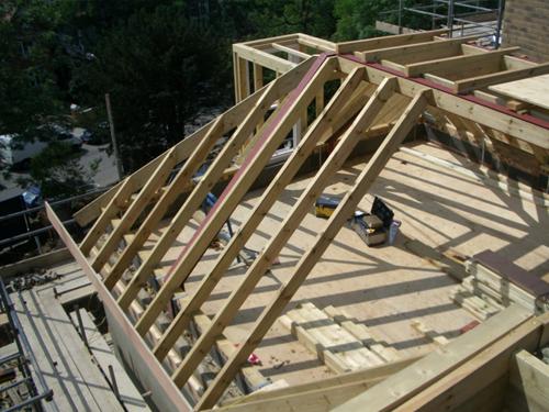 Cottenham Park, Wimbledon, timber roof