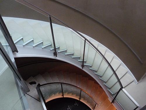 Elm Walk, Kent, stairwell