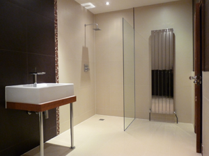 Elm Walk, Kent, shower room