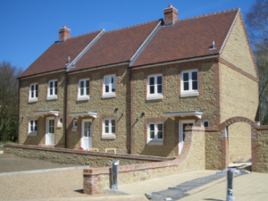 Midhurst, West Sussex, construction of 10 houses