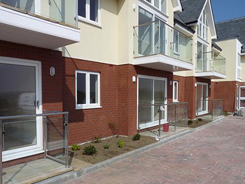 Wadebridge, Cornwall, construction of 10 houses