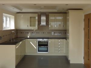 Wadebridge, typical kitchen