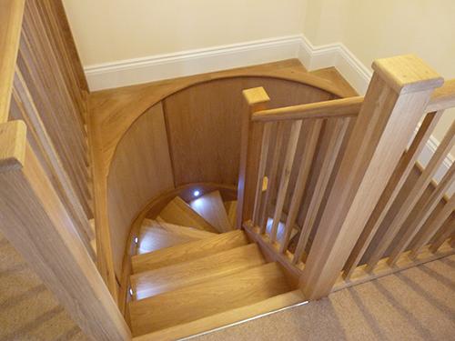 Wadebridge, interior stairs
