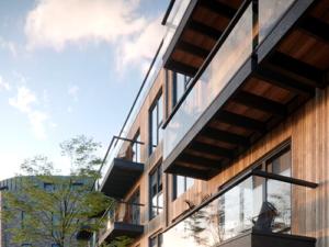 Hunt's Wharf, balconies