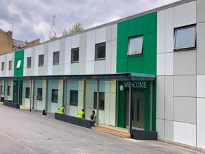 Modular Temporary School, Southwark