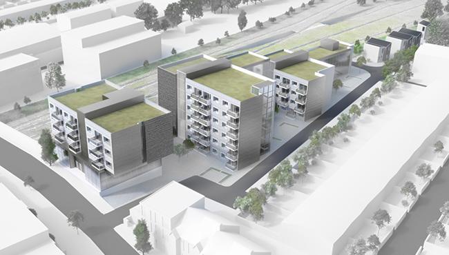 Residential, modular construction