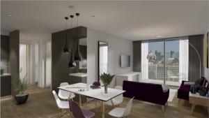 Modular interior, living area