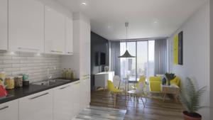 Modular interior, kitchen & dining