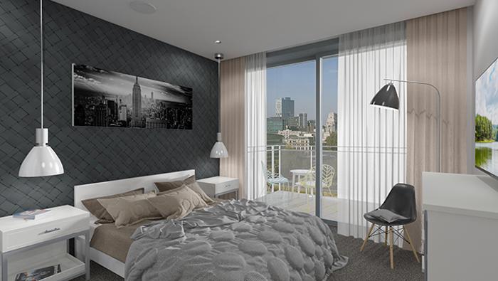 Modular interior, bedroom