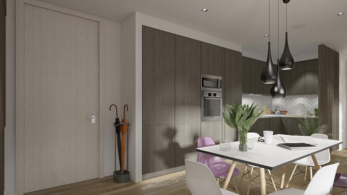 Modular interior, dining